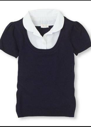 Блуза рубашка школьная форма для школы поло