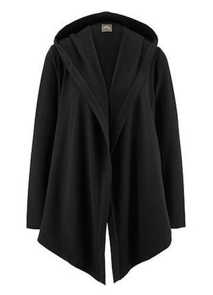 Длинная толстовка-кардиган с капюшоном и карманами серии актив от tchibo германия размер м=48-52