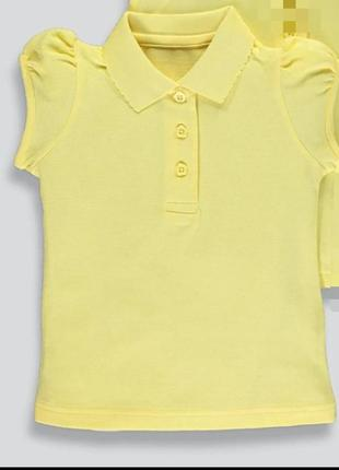 Поло для девочки форма школьная блуза