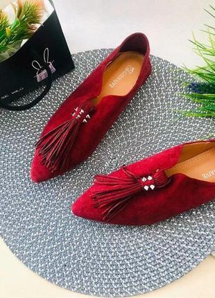 Туфли мюли мокасины лоферы шлёпки