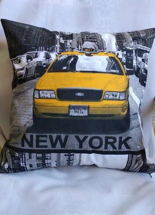 Набор декоративных наволочек в городском стиле new york