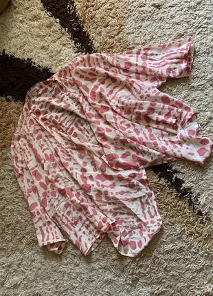 Шелковая накидка кимоно