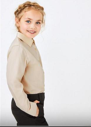 Рубашка школьная для девочки школьная форма