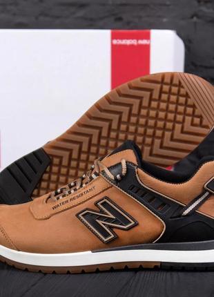 Мужские кроссовки из натуральной кожи new balance classic(40-45р)