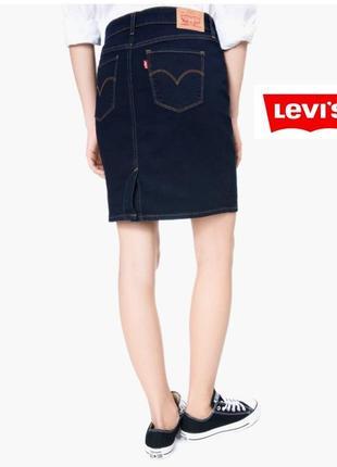 Levis. оригинал.  базовая юбка карандаш