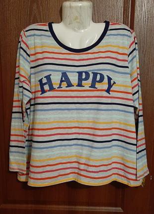 Пижамная футболка размера 56.