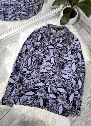 Рубашка в звериный принт