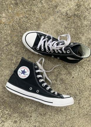 Высокие кеды converse all star