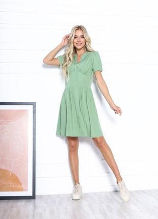Летнее платье штапель