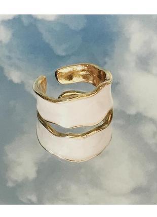 Мраморное кольцо 🤍