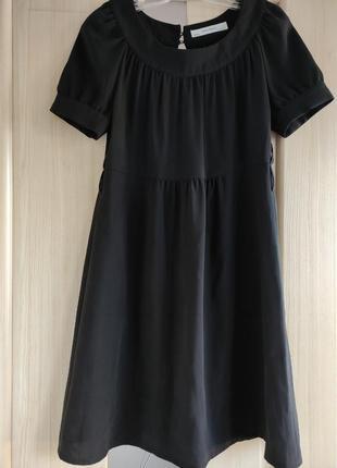 Базовое чёрное платье от zara /базове чорна чукня від zara