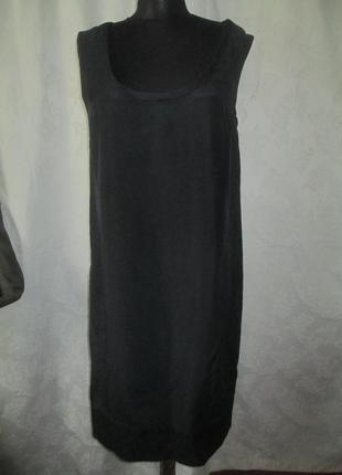 Шелковое фирменное платье