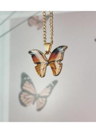Цепочка/подвеска с бабочкой 🦋