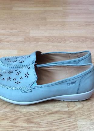 Новые кожаные туфли hotter 40 размера