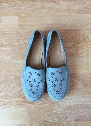Новые кожаные туфли hotter 40 размера2 фото