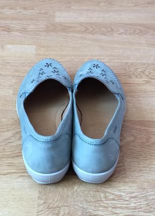 Новые кожаные туфли hotter 40 размера4 фото
