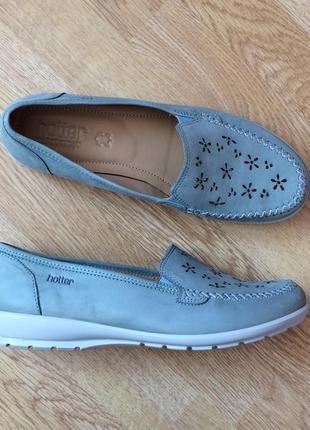 Новые кожаные туфли hotter 40 размера3 фото
