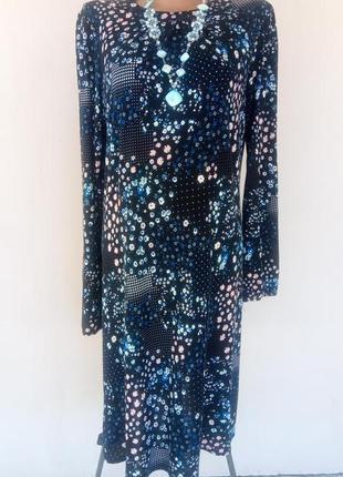 Женское трикотажное платье а силуэта 48-50 размера из 100%  вискозы