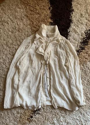 Шелковая блуза премиум бренда
