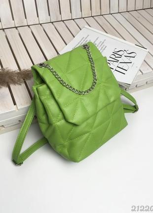 Зелёный рюкзак, сумка рюкзак, зелений сумка рюкзак, женская сумка