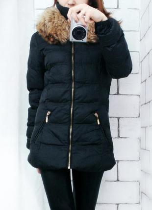 Куртка пуховик на синтепоне стеганная