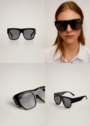 Солнцезащитные очки манго в пластиковой оправе чехол в подарок!
