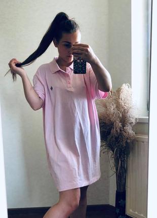 Платье футболка стильное батал