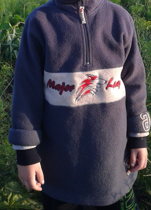 Кофта - пайта флиска для мальчика рост 116-130см