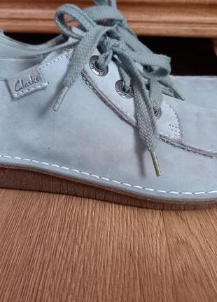 Clarks шкіряні туфлі. 41 р. 26,5 см