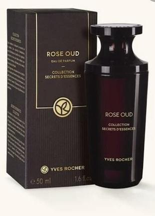 Yves rocher rose oud аромат духи парфюм туалетная парфюмированная