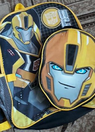 Рюкзак ранец портфель школьный трансформеры бамблби робот обмен