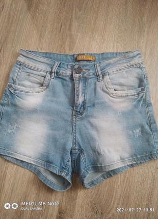 Короткие джинс шорты