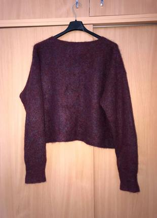 Acne стильный роскошный хейворд мохер шерсть свитер  (cos akris sandro zara h&m max mara)2 фото