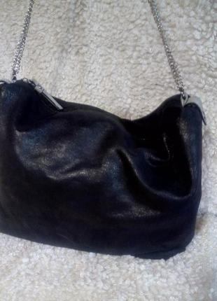 Фирменная мякгая сумка - клатч venturini milano