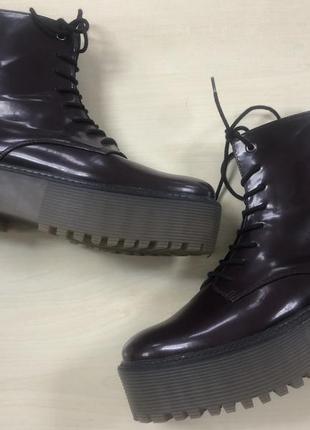 Bershka ботинки оригинал