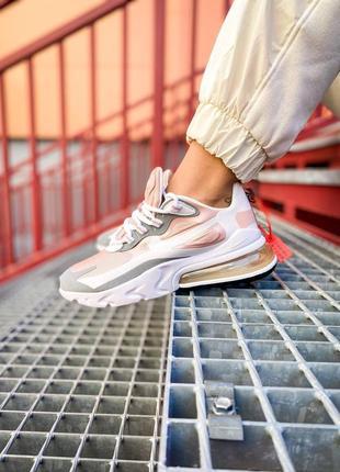 """Nike air max 270 react """"creme feminino"""""""