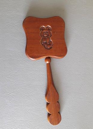 Винтажное деревянное зереало,  олимпиада