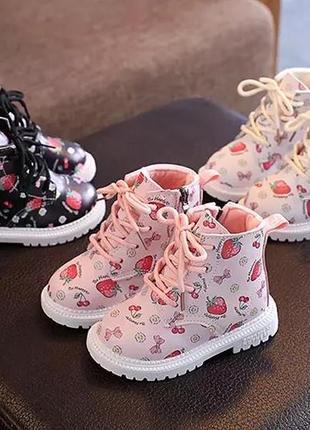 Ожидаю ботиночки на девочку в 3 цветах, ботинки, черевики