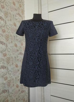 Брендовое платье с карманами