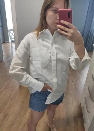 Біла сорочка mango