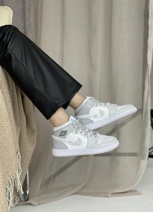 🤍 женские кроссовки nike air jordan 1