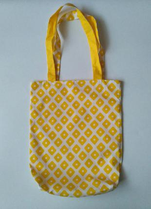 8e7c7c0d1e81 Хлопковая сумочка с подкладкой ,сумка шопер, еко сумка, эко сумка из хлопка