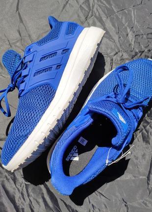 Новые мужские кроссовки adidas оригинал 43,5 44 размер синие ultimashow