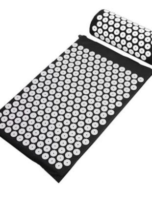Акупунктурний килимок для зняття стресу acupressure mat   колючий килимок   килимок для масажу тіла