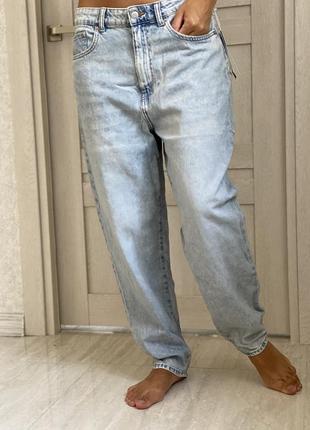 Mom джинсы новые! uk -14; eur-42;us-10