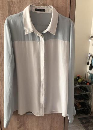 Шифоновая блузка/блузка/рубашка