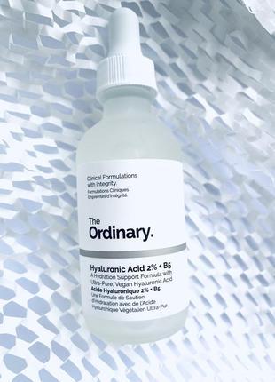 Сироватка the ordinary hyaluronic acid 2% + в5 60 мл