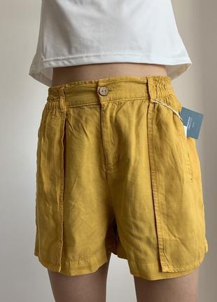 Жовті шорти, женские шорты, летние шорты. springfield, летние шортики.