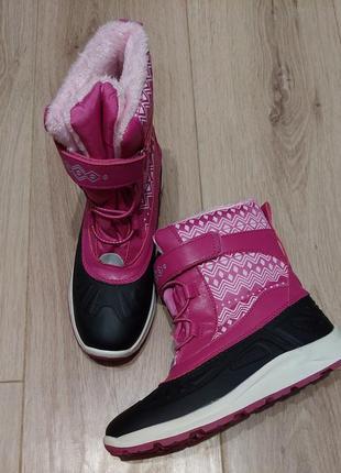 Сноубутсы/зимние ботинки для девочки р, 34, германия pepperrts