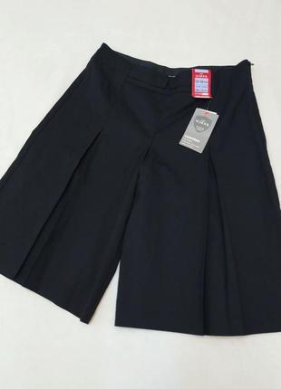 Юбка шорты для школы школьная одежда marks & spencer